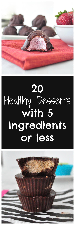 Healthy Desserts P