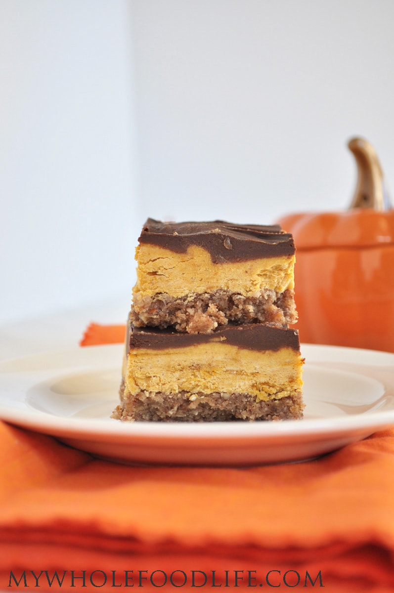 pumpkin creme bars