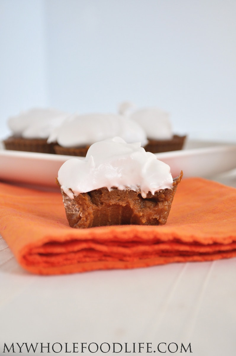 Paleo Vegan Healthy Pumpkin Cupcake