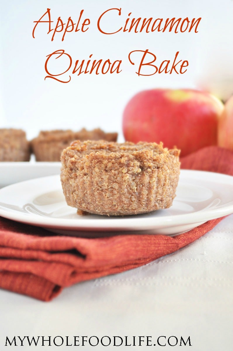 Apple Cinnamon Quinoa Bake - My Whole Food Life P