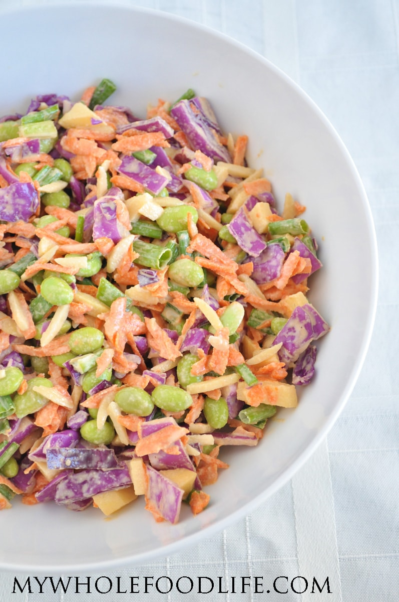 Easy Cabbage Salad 1 - My Whole Food Life