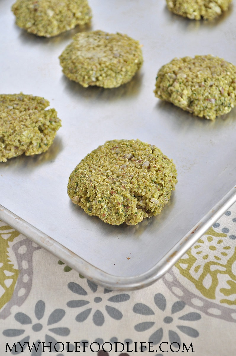 Spinach Quinoa Patties - My Whole Food Life