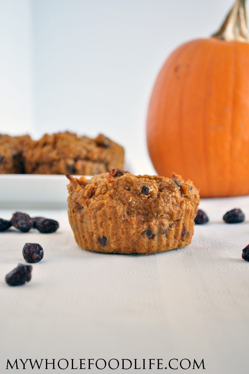 Squash Cranberry Muffins - My Whole Food Life
