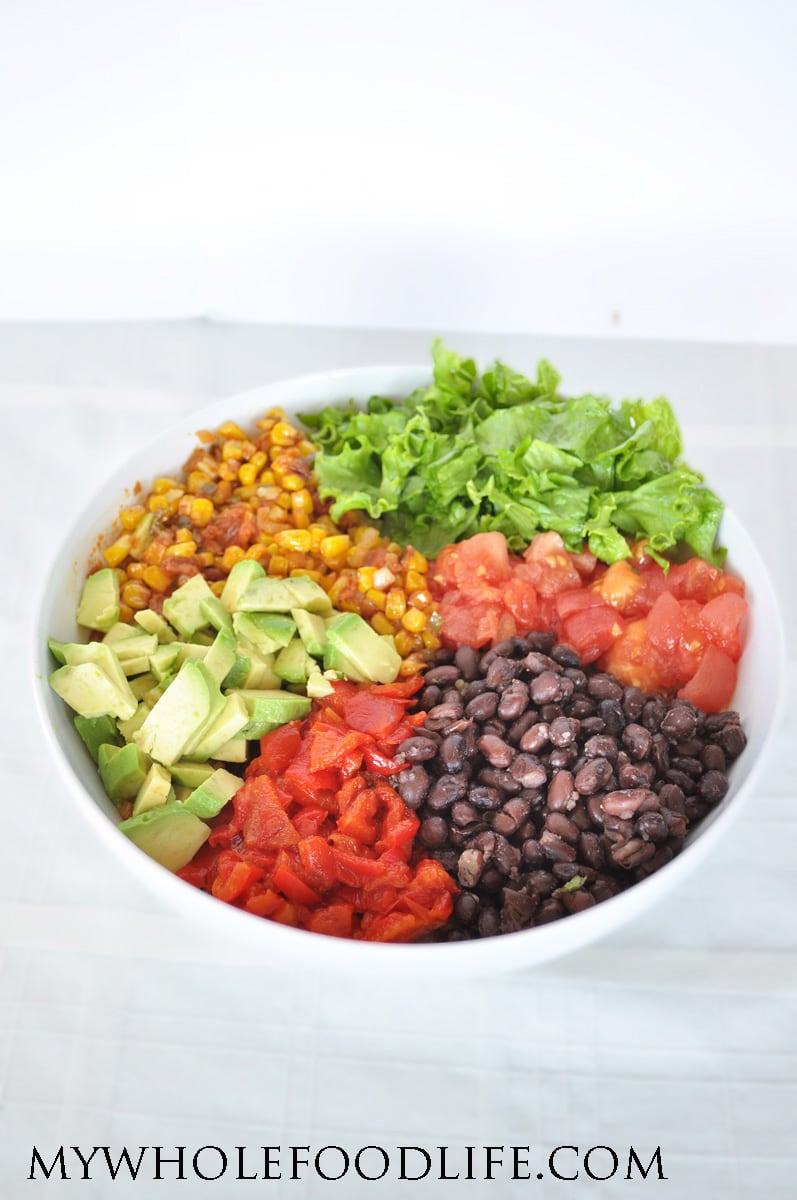 Healthy Burrito Bowl - My Whole Food Life