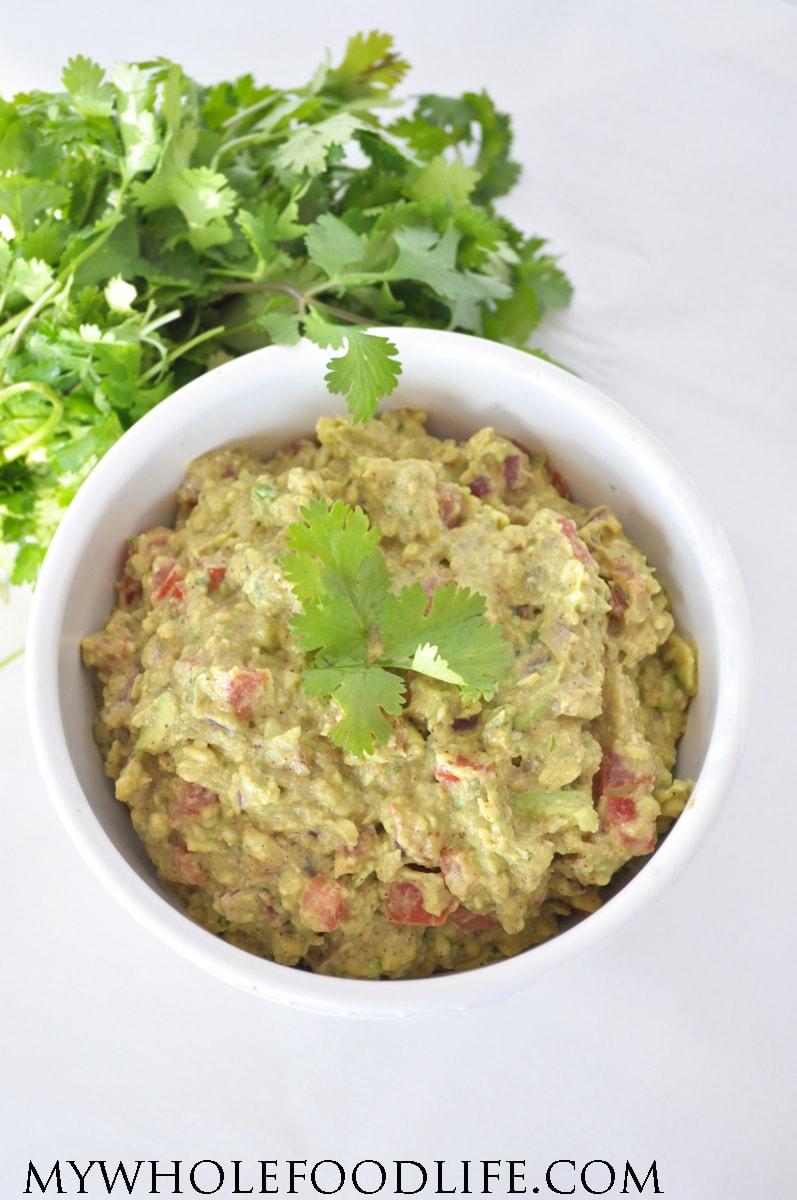 Easy homemade guacamole recipe my whole food life easy homemade guacamole forumfinder Images