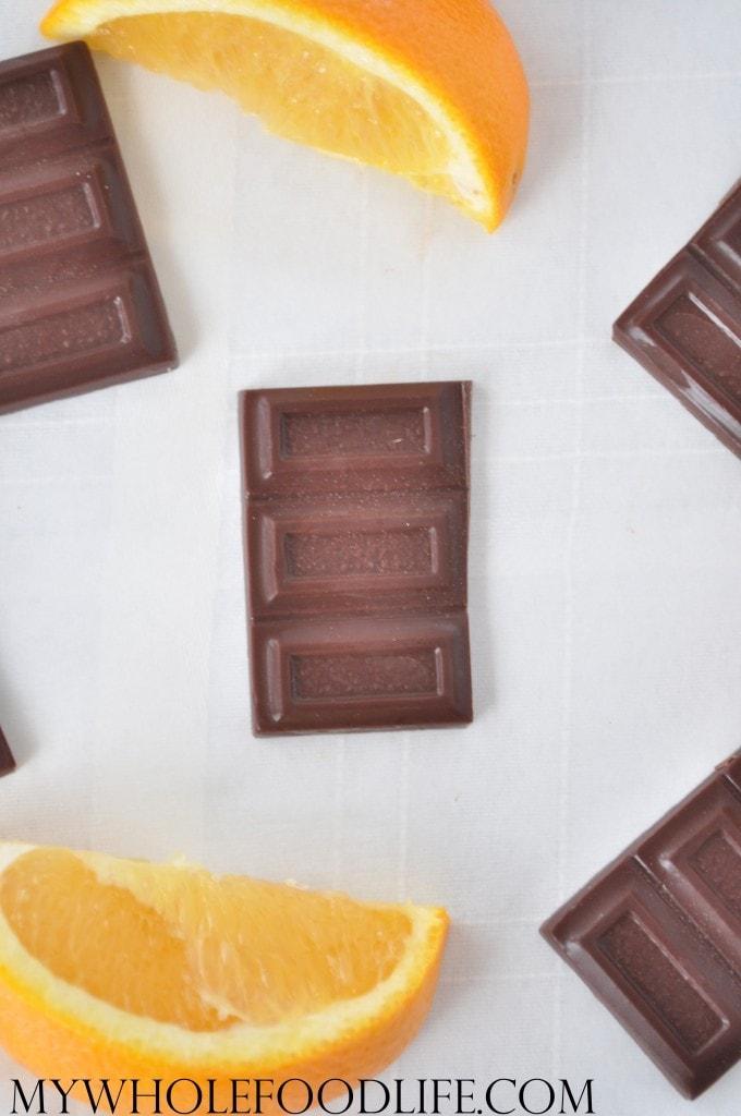 Homemade Orange Chocolate - My Whole Food Life