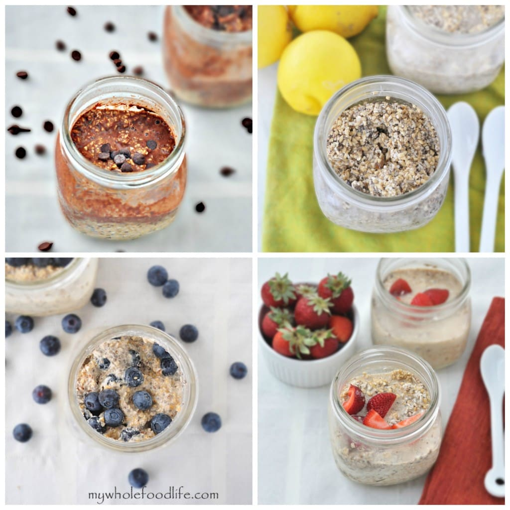 Overnight Oats Collage 1