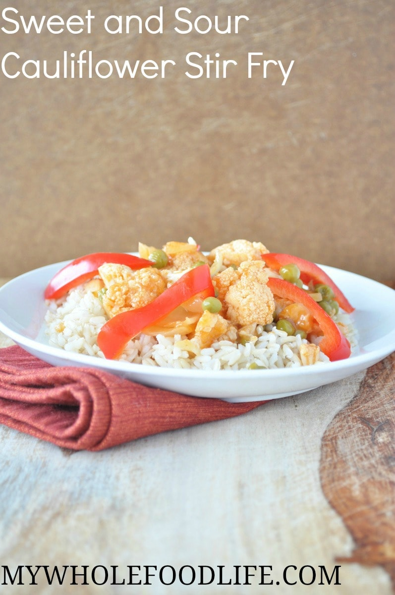 Sweet and Sour Cauliflower - My Whole Food Life P