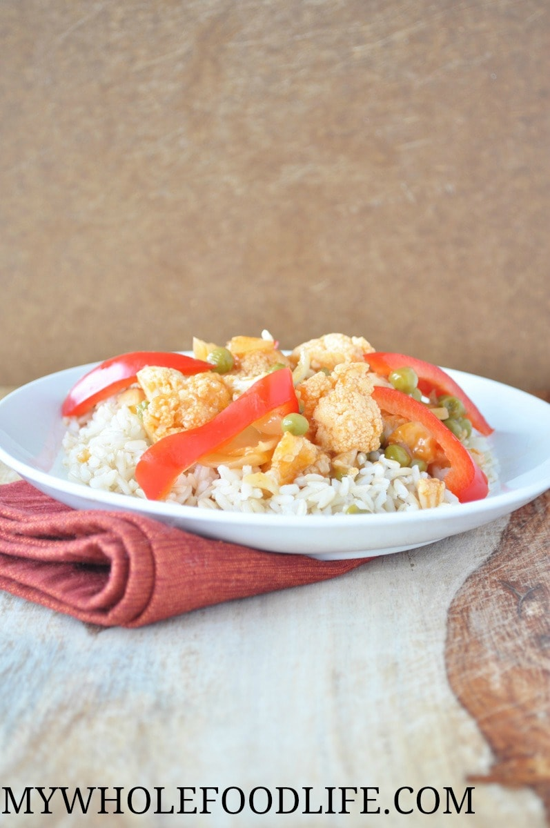 Sweet and Sour Cauliflower - My Whole Food Life