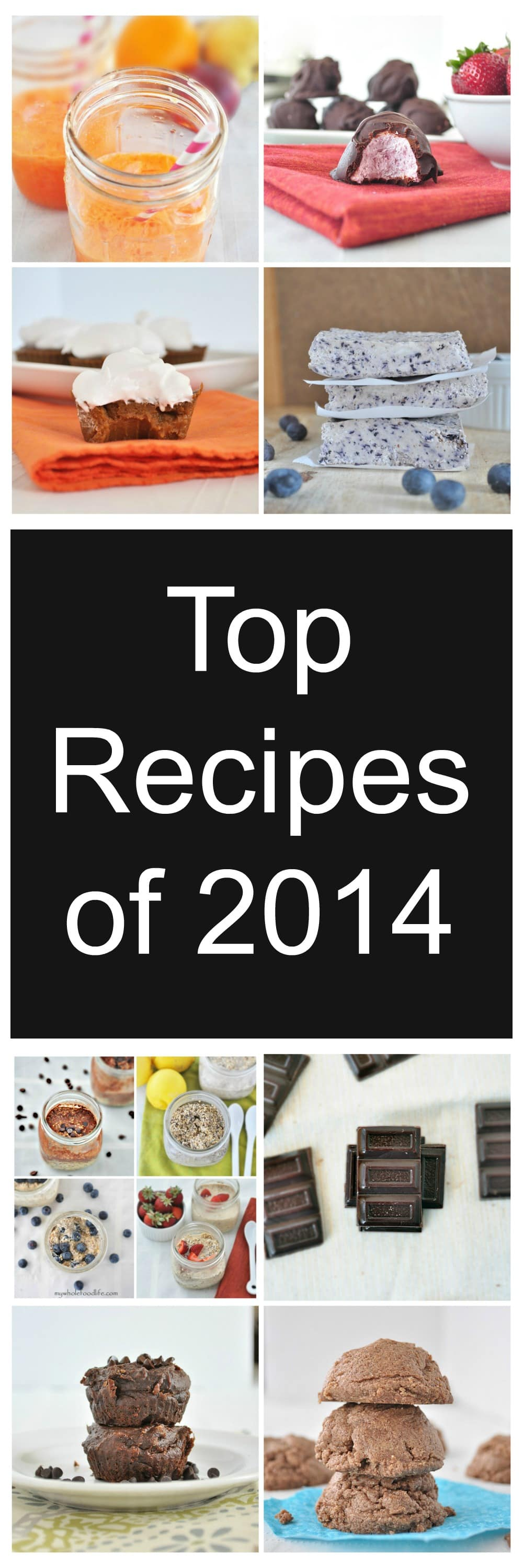 Top Recipes of 2014 Collage