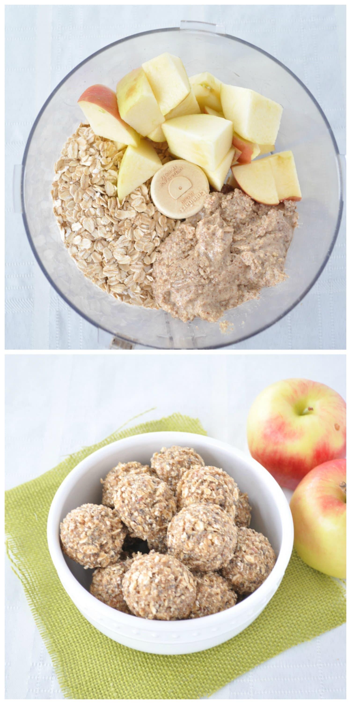 Apple Almond Energy Bites P
