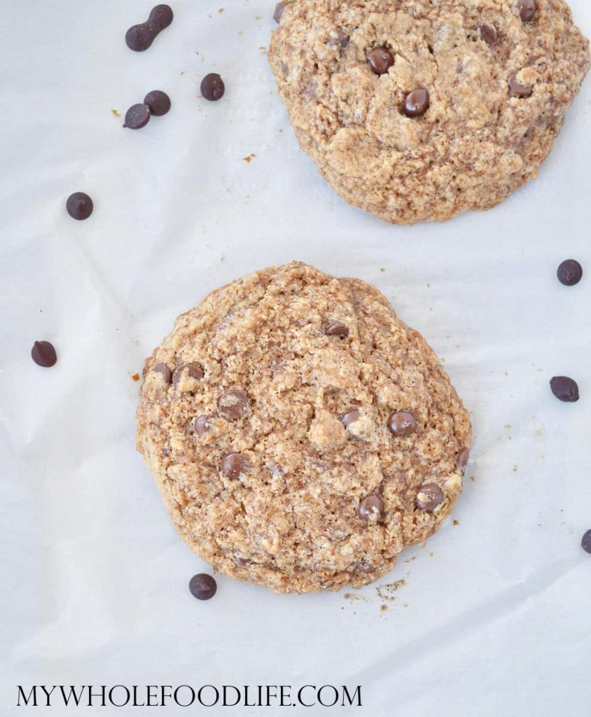 Chocolate Chip Cookies for Two - My Whole Food Life