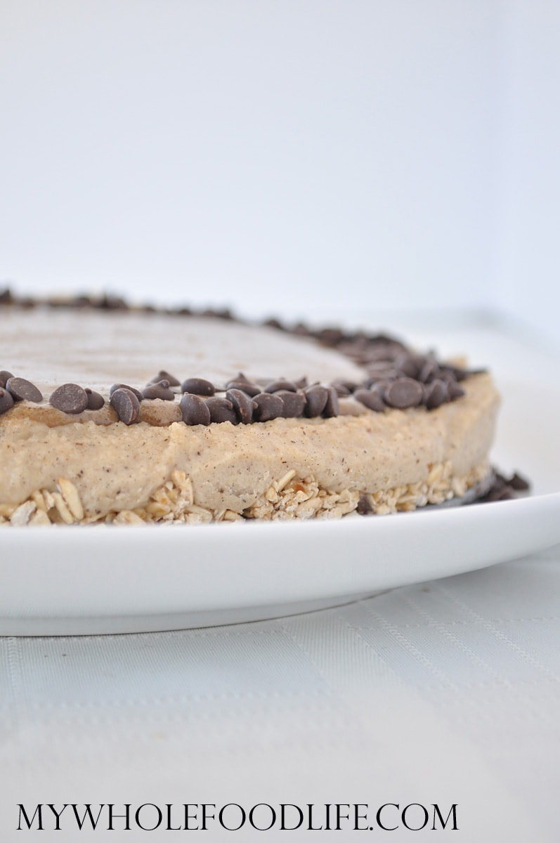 Salted Caramel Vegan Cheesecake - My Whole Food Life