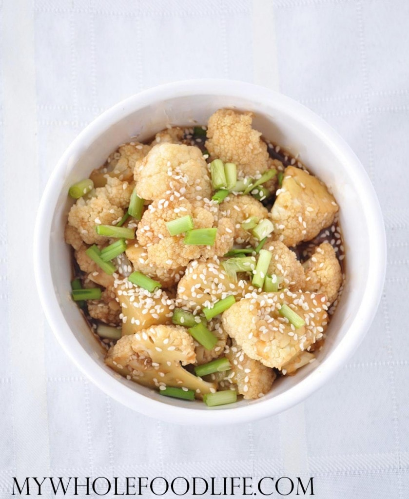 Easy Sesame Cauliflower - My Whole Food Life