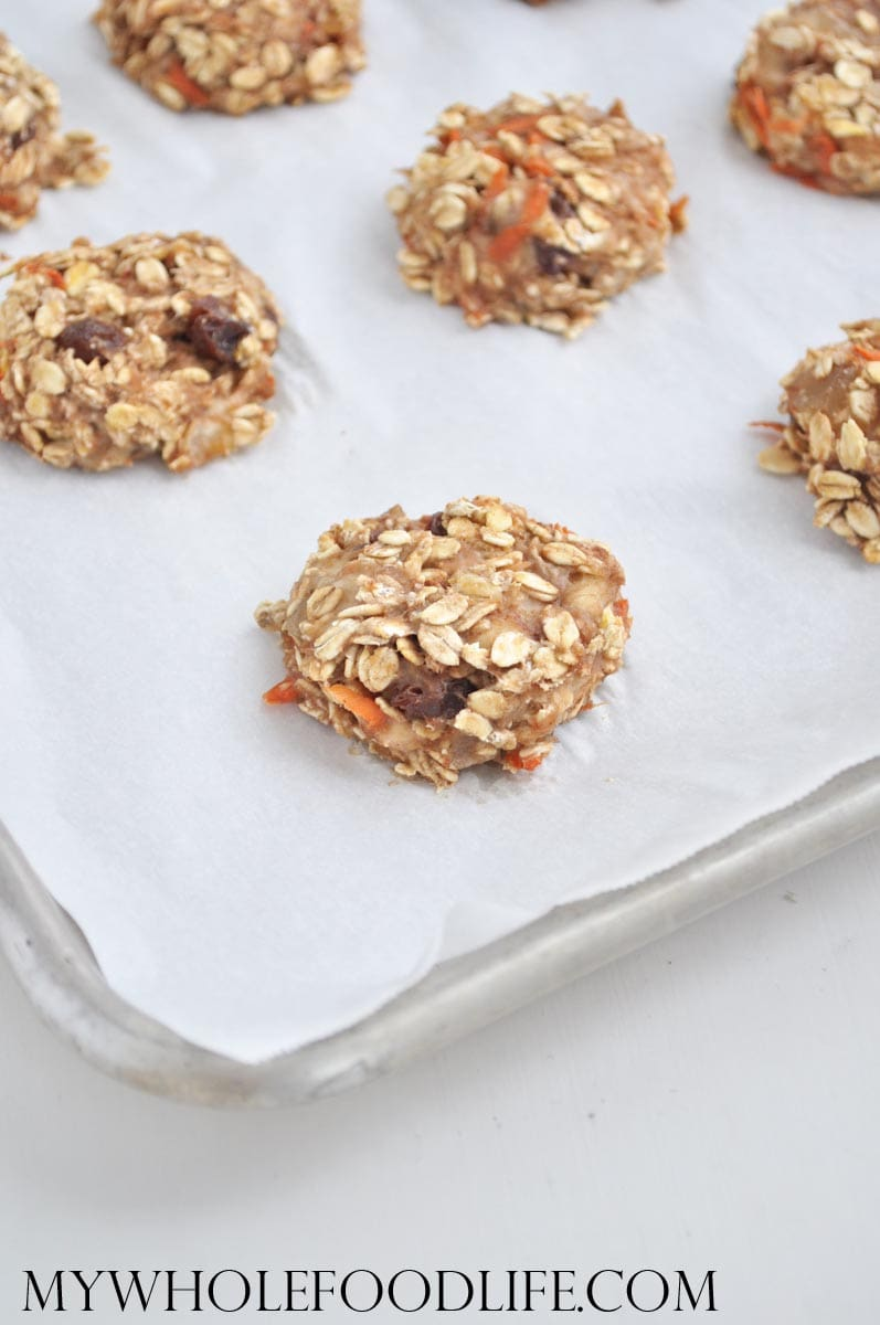 Carrot Cake Breakfast Cookies - My Whole Food Life
