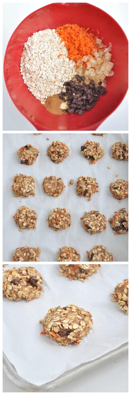 Carrot Cake Breakfast Cookies Steps