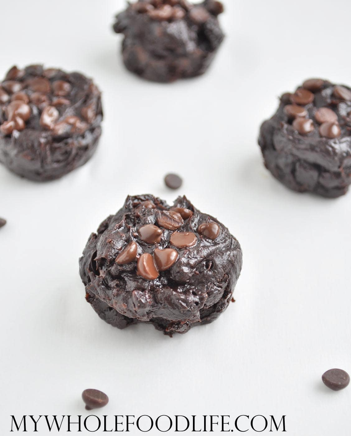 Flourless Chocolate Brownie Bites - My Whole Food Life