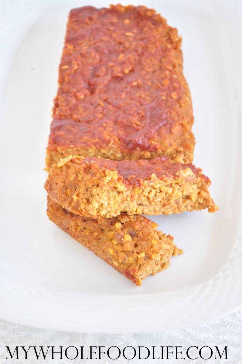 Easy Lentil Loaf - My Whole Food Life