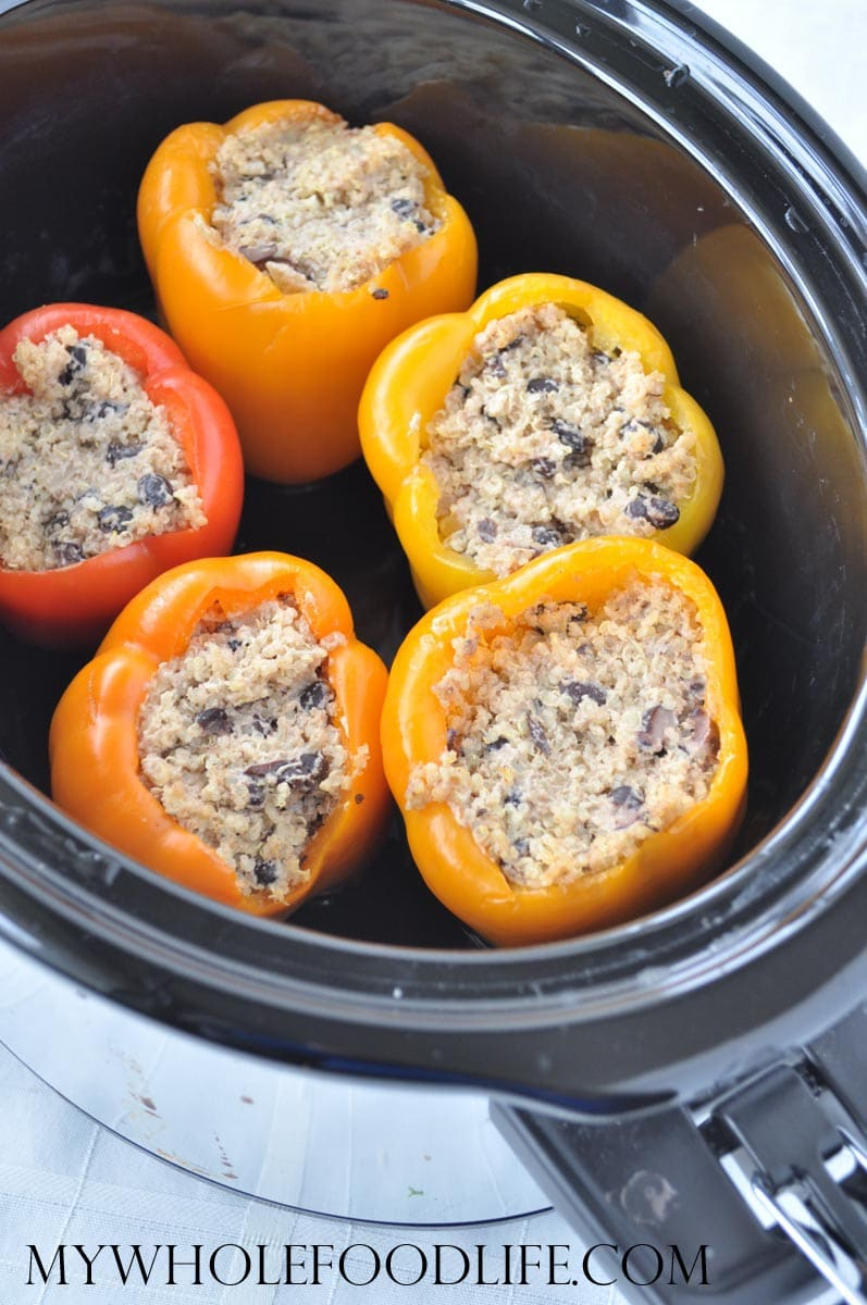 Quinoa Stuffed Peppers - My Whole Food Life