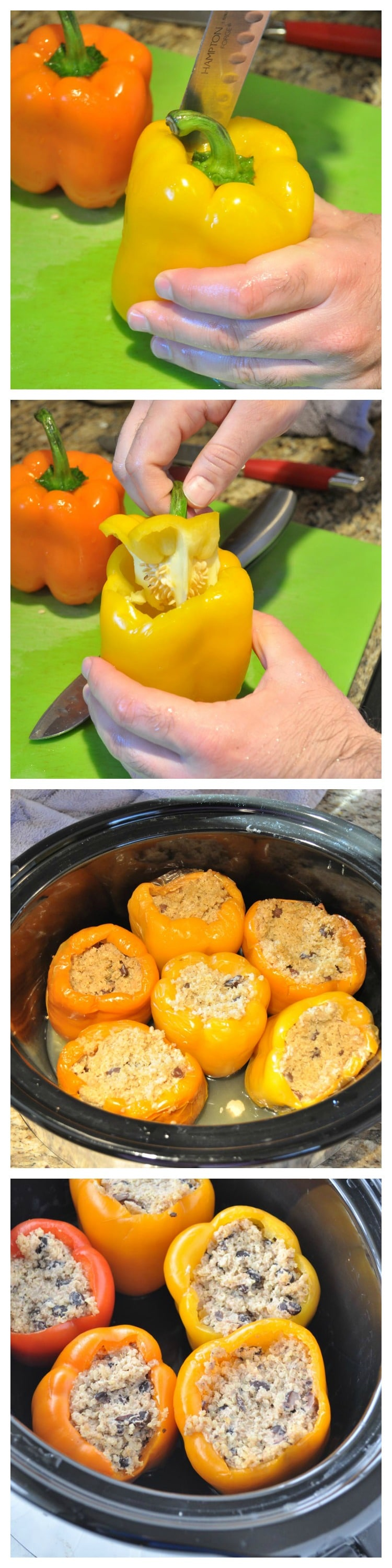 Stuffed Peppers Steps