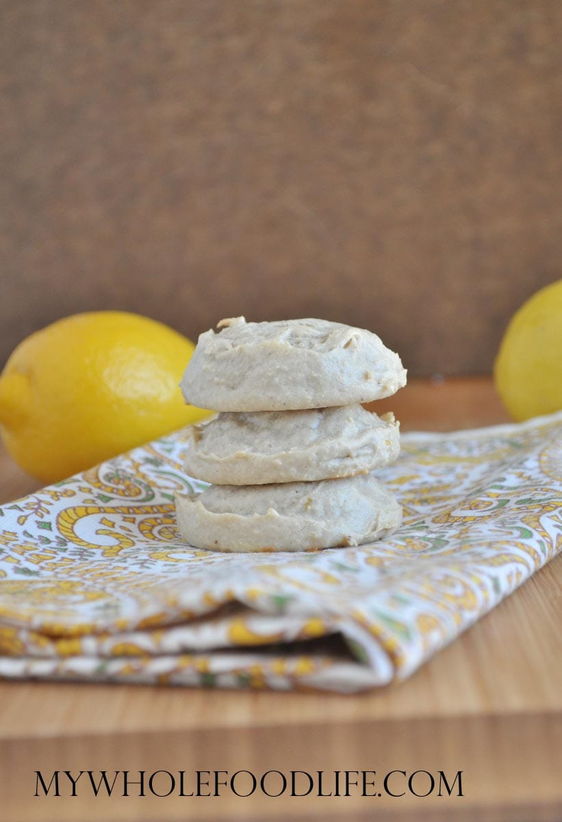 Flourless Lemon Cookies - My Whole Food Life