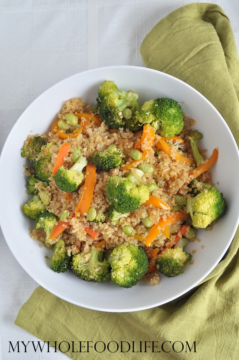 Quinoa Veggie Stir Fry - My Whole Food Life