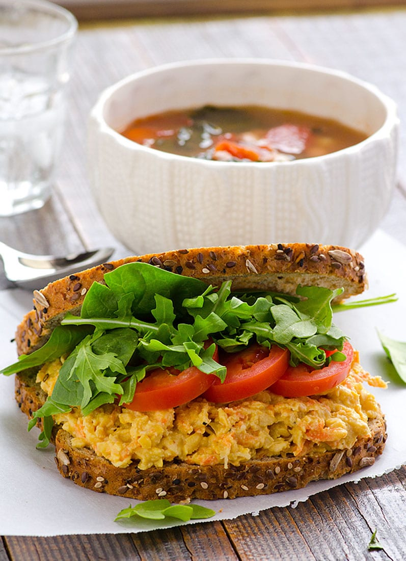 sandwich-whole-clean-eating-sesame-chickpea-carrot-spread-recipe