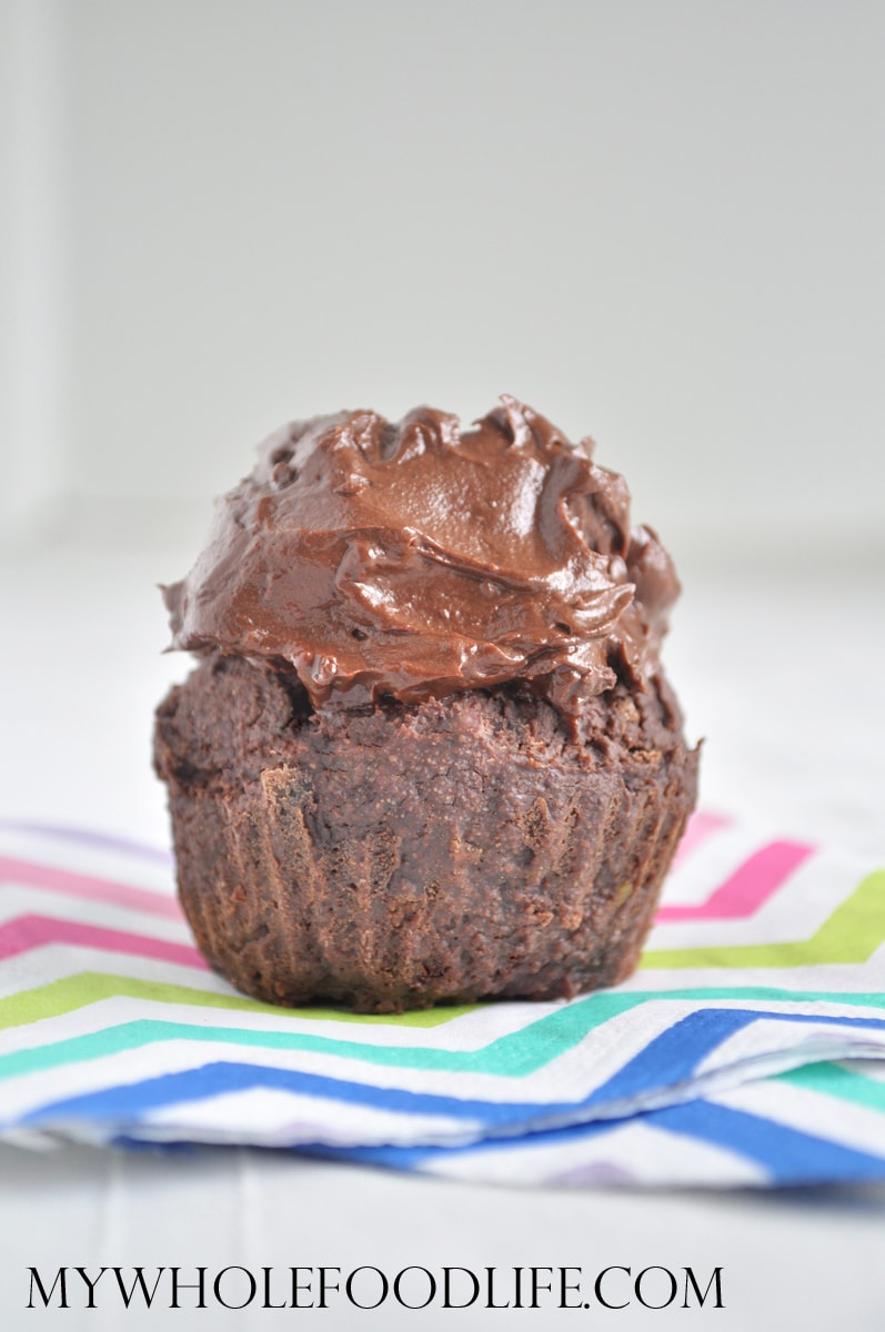 Chocolate Avocado Cupcakes - My Whole Food Life