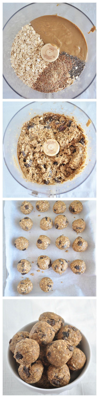 Nut Free Snack Balls Steps