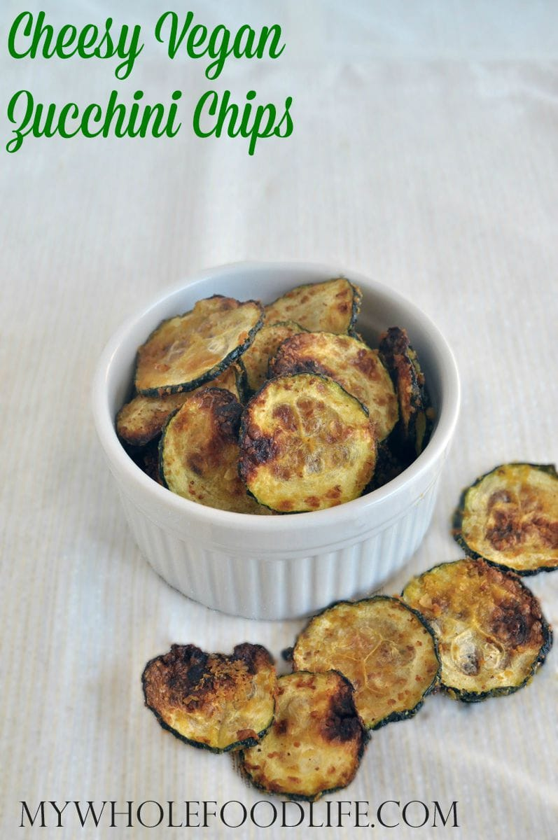 Cheesy Zucchini Chips - My Whole Food Life P