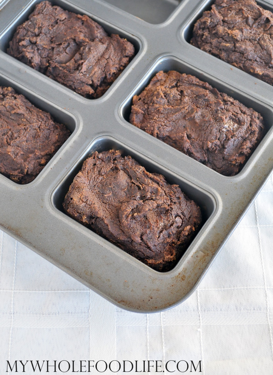Chocolate Pumpkin Loaves - My Whole Food Life