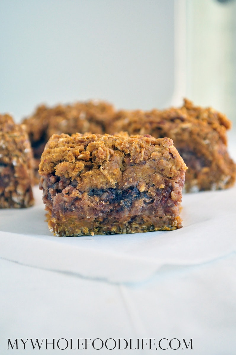 Pumpkin Pecan Date Bars - My Whole Food Life