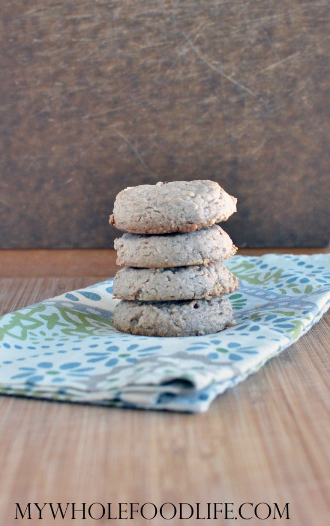Flourless Coconut Pecan Cookies - My Whole Food Life
