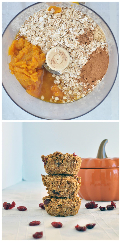 Flourless Pumpkin Muffins P