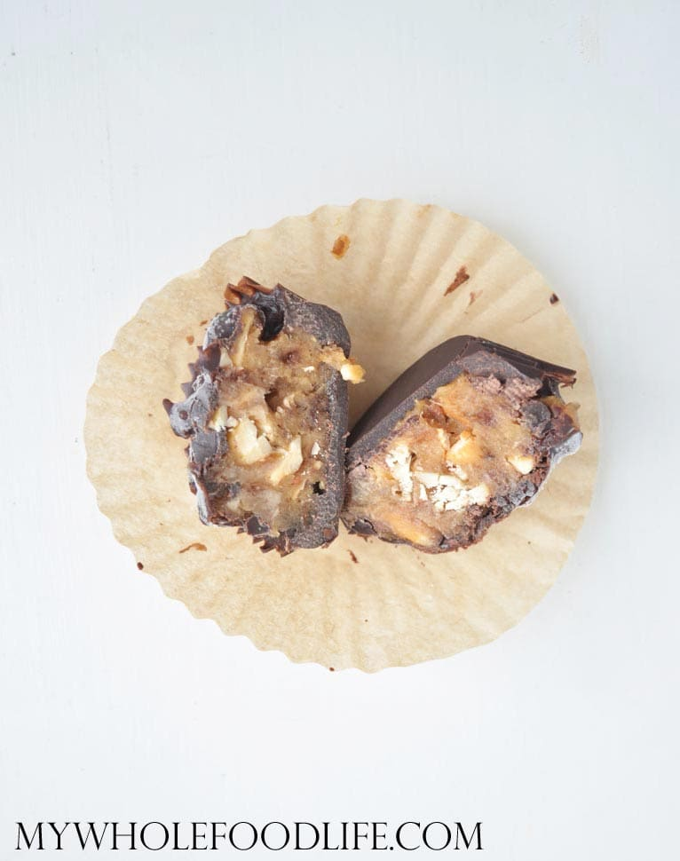Homemade Snickers Bites