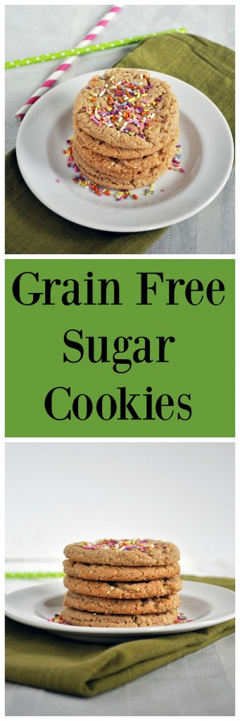 Grain Free Sugar Cookies P