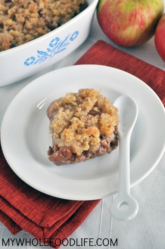 Paleo Apple Cobbler - My Whole Food Life