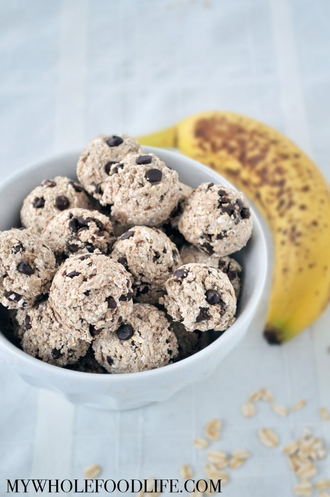 Banana Chocolate Energy Bites - My Whole Food Life