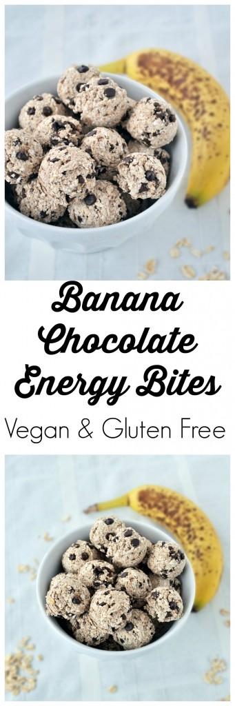 Banana Chocolate Energy Bites P