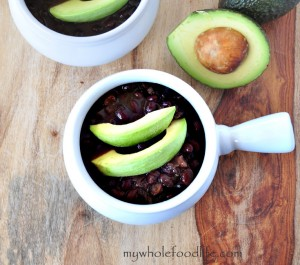 Black Bean Soup - My Whole Food Life
