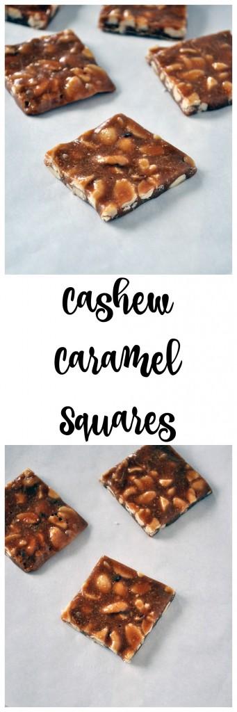 Cashew Caramel Squares P