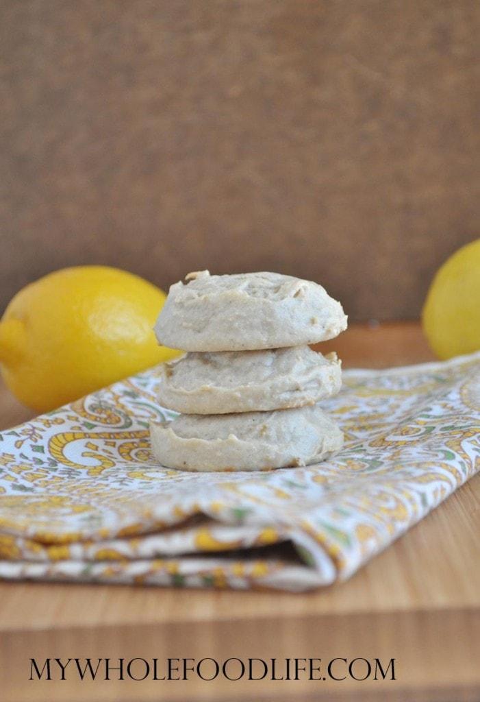 Flourless Lemon Cookies - My Whole Food Life