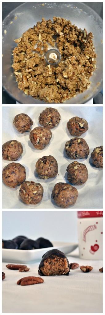 Pecan Caramel Truffles P