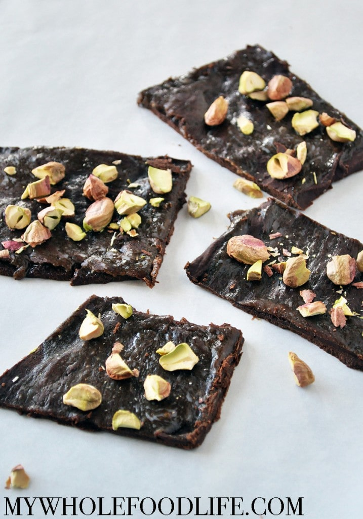 Salted Caramel Pistachio Bark - My Whole Food Life