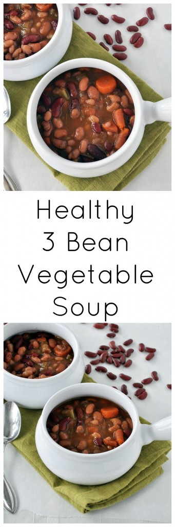 3 Bean Vegetable Soup P