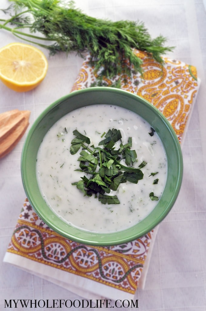 Homemade Tzatziki Sauce - My Whole Food Life