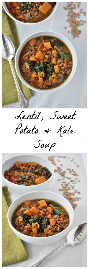 Lentil Sweet Potato Kale Soup P