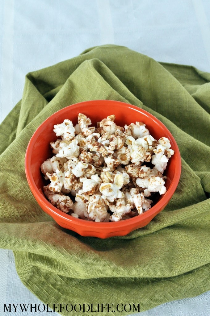 Maple Coconut Popcorn - My Whole Food Life