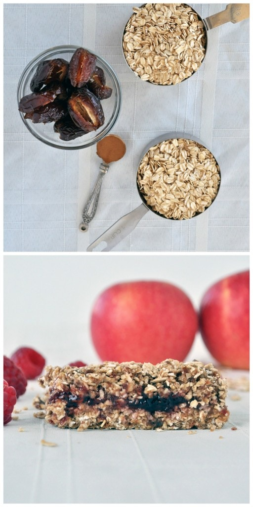 No Bake Oat Bars P