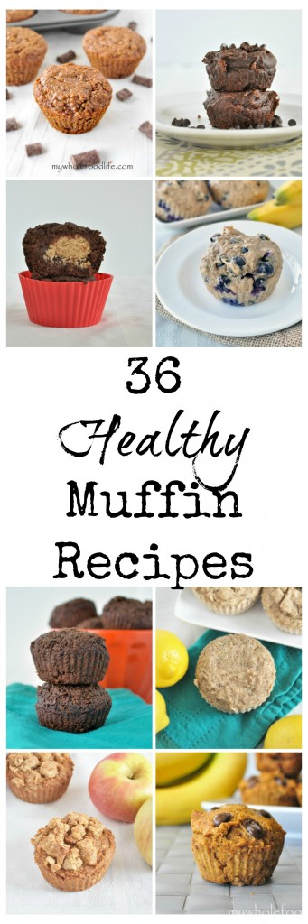 36 Healthy Muffin Recipes P